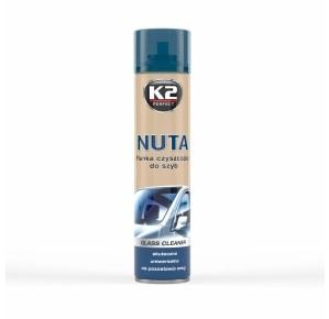 innowacyjna pianka Nuta marki K2 preparaty do czyszczenia szyb samochodowych