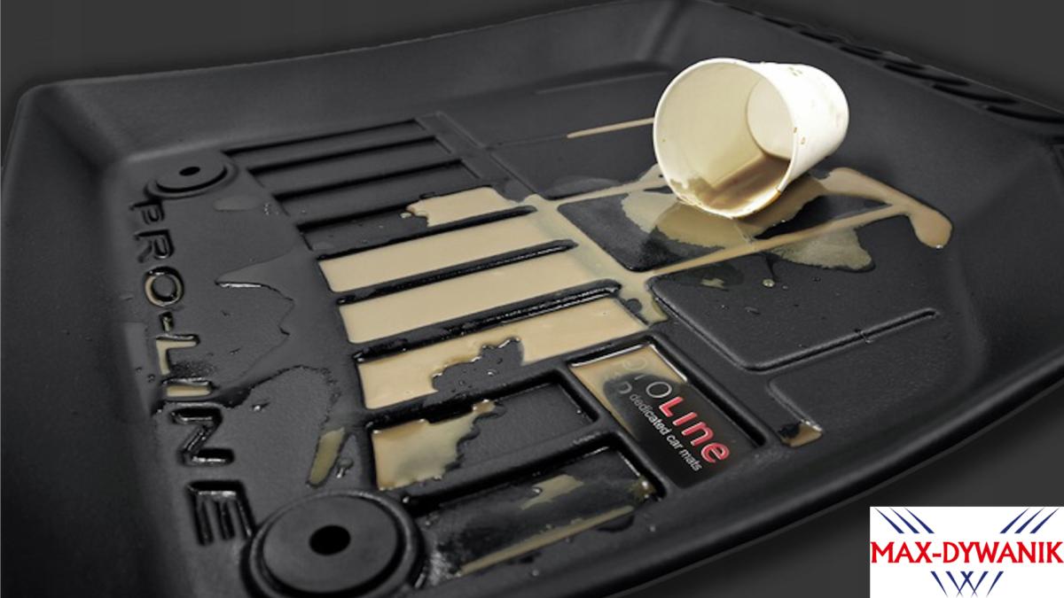 czyszczenie gumowych dywaników samochodowych
