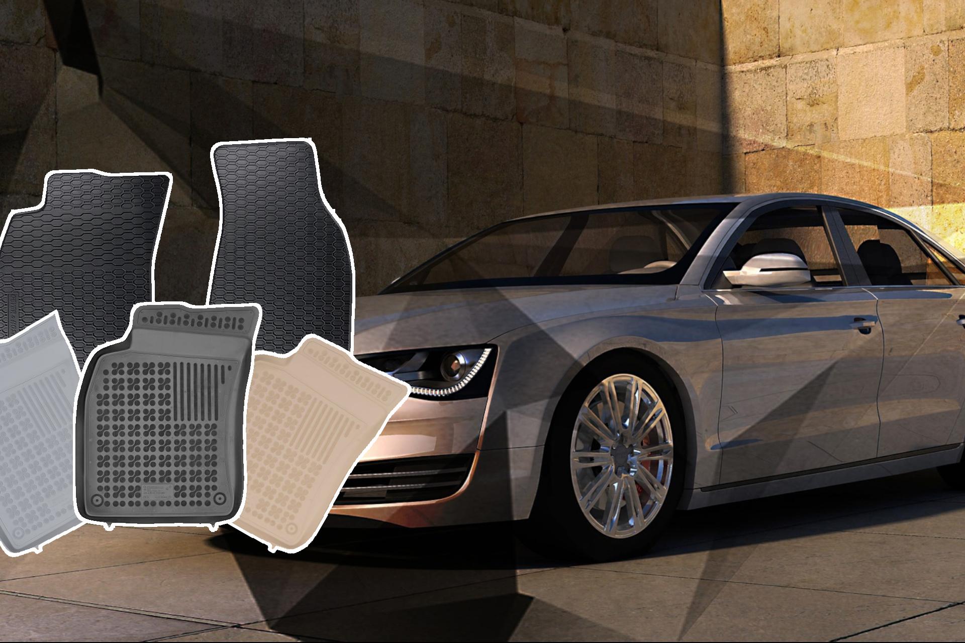 dywaniki welurowe Audi A3 dywaniki samochodowe dywaniki welurowe