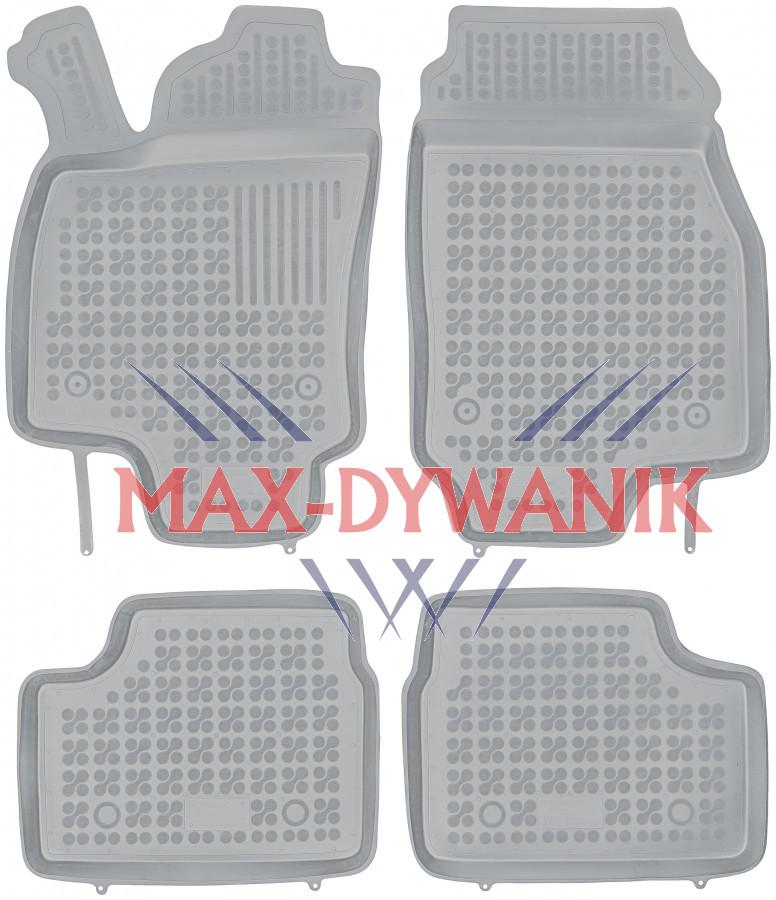 dywaniki gumowe Opel Astra H dywaniki gumowe rezaw plast