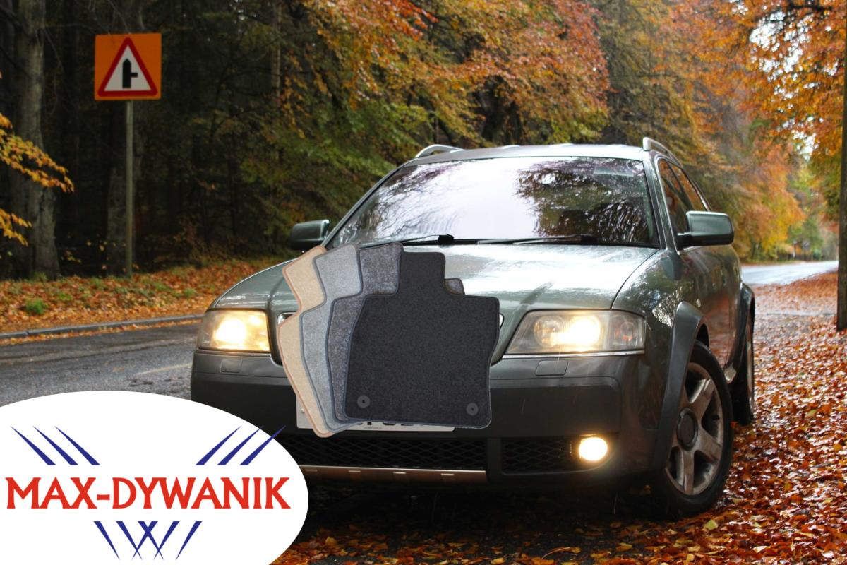 dywaniki welurowe do Audi A6 C6 dywaniki welurowe