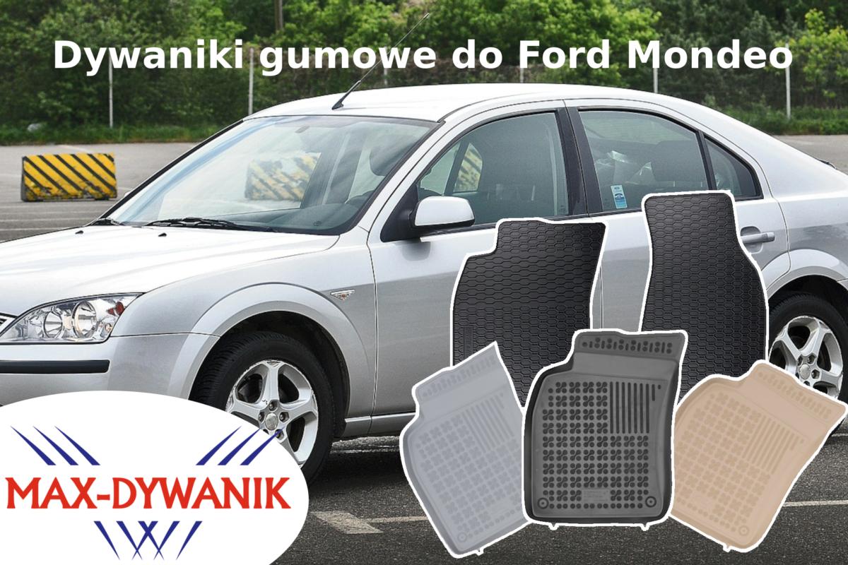 Dywaniki gumowe Ford Mondeo