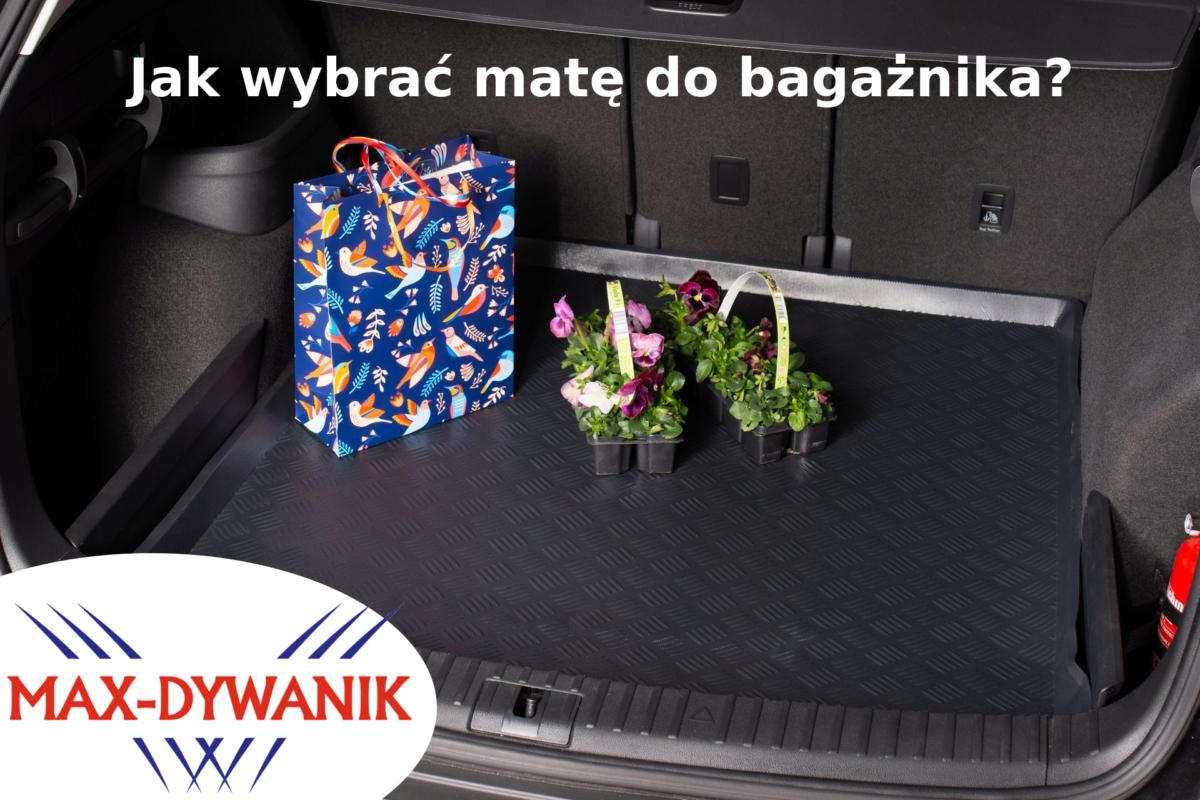 Jak wybrać matę do bagażnika, dywanik do bagażnika
