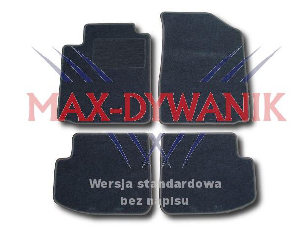 dywaniki welurowe do Toyoty Yaris 1 dywaniki samochodowe dywaniki welurowe